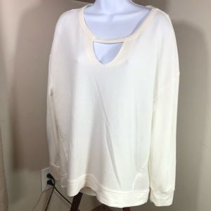Juicy Couture | White Keyhole Shirt